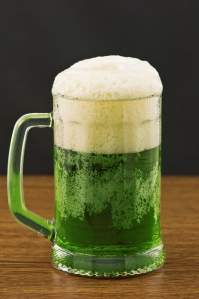 Irish Food Green Beer
