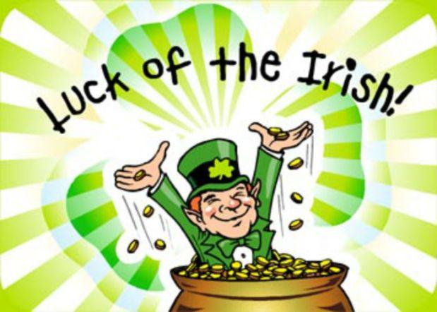 Irish history luck of the irish