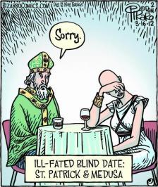 Saint Patrick, Saint Patrick's Day, Saint Patrick and the snakes, history, Irish