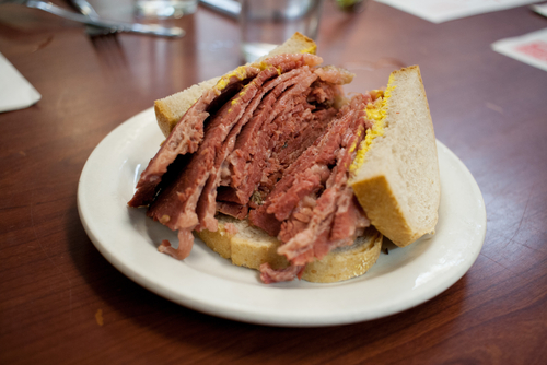 montreal smoked meat, quebec food, canadian food, quebec tourism, canadian tourism